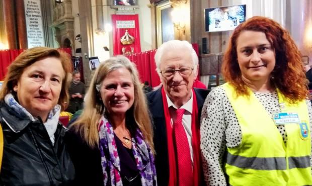 Sexta reunión con mujeres en la iglesia de San Antón para el proyecto Objetivo Inclusión patrocinado por ASEJU